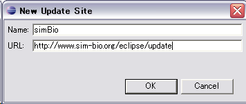 update site of eclipse plugin for simBio